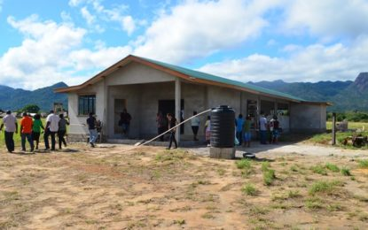 Increased food security for Region 9 – farine factories take root in North Rupununi