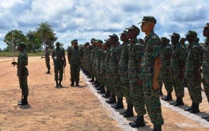GDF WELCOMES 189 NEW SOLDIERS