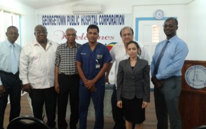 GPHC gets medical equipment from Fyrish support group