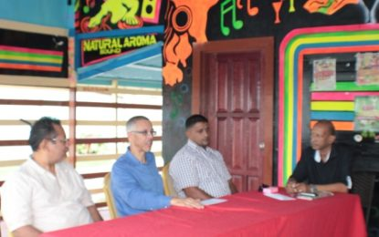 Minister Gaskin addresses Rosignol shop owners' concerns