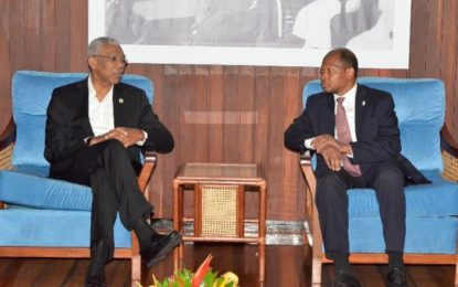 Guyana's new envoy to Brazil calls on President