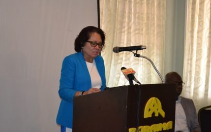 Zero-tolerance for human trafficking in 50-year old Independent Guyana  -First Lady tells participants at awareness workshop