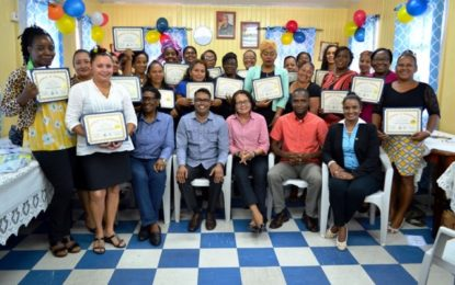 26 Barticians graduate from Self Reliance and Success in Business Workshop