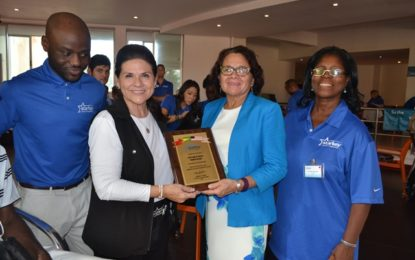 First Lady joins Starkey Foundation at Caribbean training session -Foundation plans to make Guyana regional hub