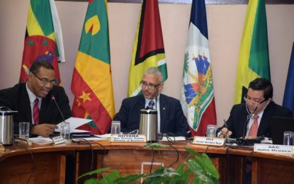 Guyana's Minister of Business puts people at centre of high level meeting