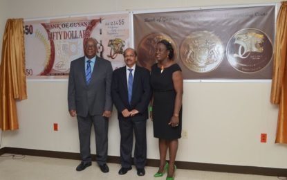 Jubilee commemorative coins, $50 note launched