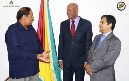 PM meets Ambassadors Karran and Insanally