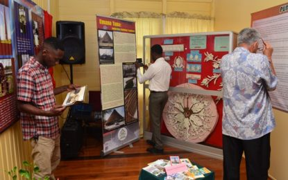 Diverse aspects of Guyana's heritage on display at 50th anniversary exhibition