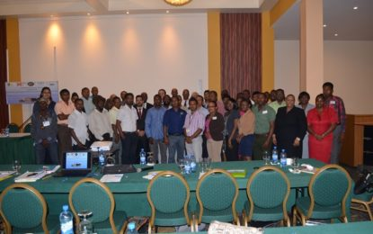 Stakeholders gather to craft action plan to build climate sensitive sectors' resilience