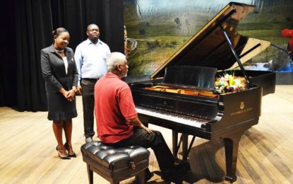 Music education in Guyana receives boost with acquisition of two Steinway Pianos