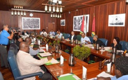 President, Minister of State engage permanent secretaries