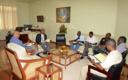 Minister Harmon hosts meeting to draft community development plan for Mocha