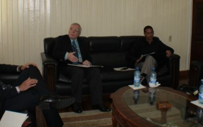 Canadian College pays courtesy call on Minister of Business