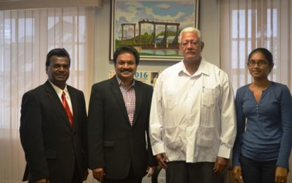 Prospective Indian Investor meets Minister of Agriculture