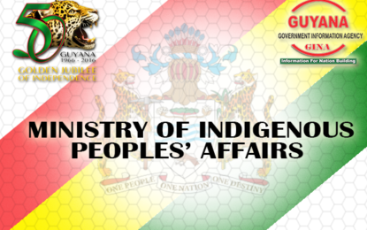 Statement by Honourable Sydney Allicock, MP, Vice President and Minister of Indigenous Peoples' Affairs on the occasion of: International Day of the World's Indigenous Peoples, August 9, 2016.