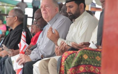 Cohesion Day prayer ceremony held at D'urban Park – minimal work remains on facility