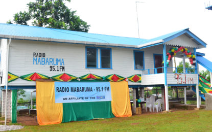 Launch of Radio Mabaruma 95.1 FM