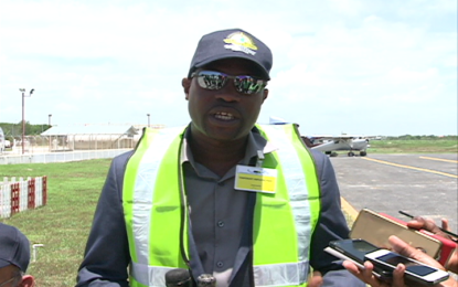 Small aircraft now able to park freely at Ogle Int'l Airport  –Minister Patterson lauds initiative