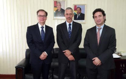 Officials of the Hague Conference on Private International Law pay courtesy call on Minister of Business