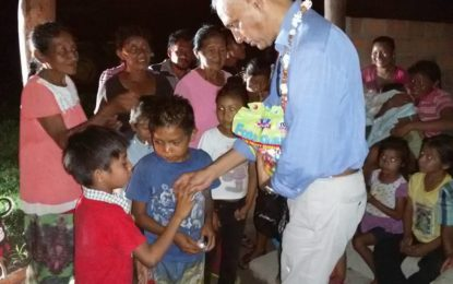 Ministerial visits to villages in Upper Takutu-Upper Essequibo (Region 9)
