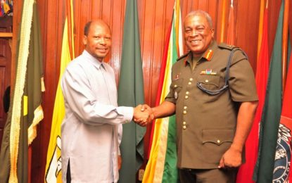 NEWLY APPOINTED AMBASSADOR TO BRAZIL CALLS ON COS