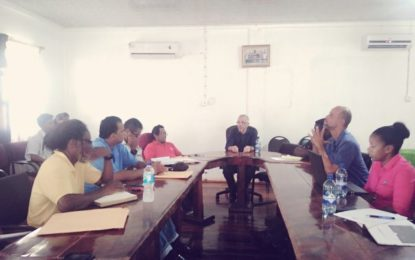 Minister Gaskin meets with Mahdia business community