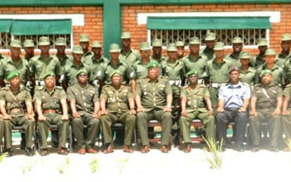 TWENTY – SIX COMMENCE TRAINING ON LEADER SERGEANTS COURSE