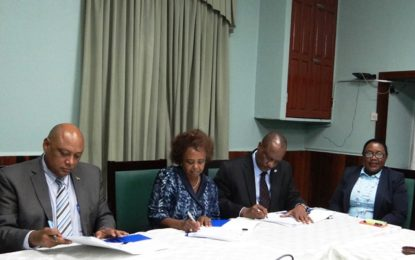 Government, UNDP commit to fulfillment of Guyana's Rio Conventions' obligations. – Project document signed to formalize commitment