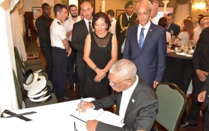 President Granger says Guyana stands in solidarity with France – condemns Nice terror attack