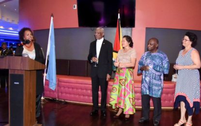 Outgoing UN Representative Khadija Musa has served Guyana with distinction – says President Granger at farewell reception
