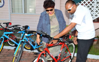 Minister Ally receives 60 more bicycles for 'Five Bs' programme