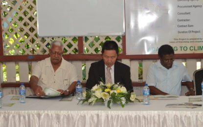 Rehabilitated EDWC project handed over to NDIA- Gov't thanks Japan for financial contribution