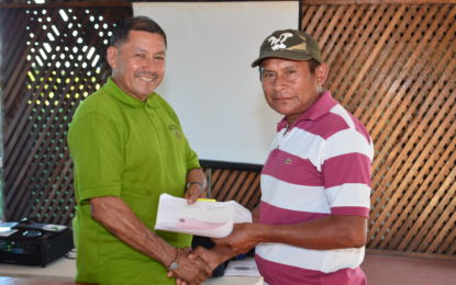 More hinterland communities receive grants for sustainable projects