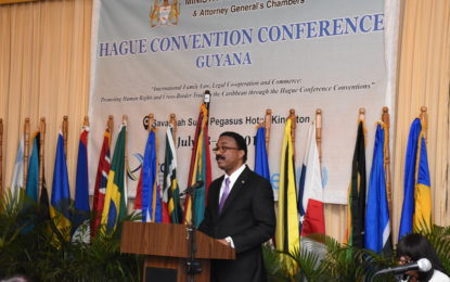 Opening Ceremony of the Hague Convention Conference (HCCH)