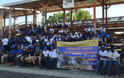 More forceful implementation for TIP legislation – Minister Ramjattan at TIP awareness walk