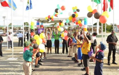 Scouting builds character, promotes respect  – President Granger at opening of 14th Caribbean Cuboree in Guyana
