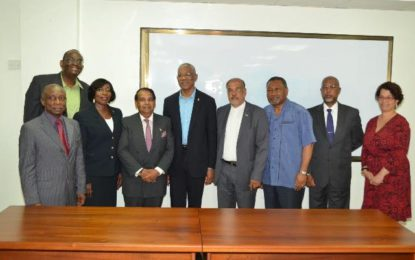 New heads of missions ready to promote Guyana's international image