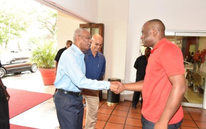 President Granger meets with Dominican Prime Minister – ahead of CARICOM HOGM