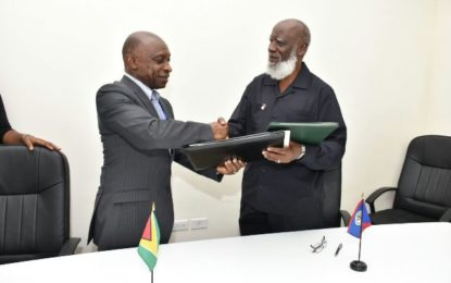 Guyana to tap into Central America markets – signs trade agreement with Belize