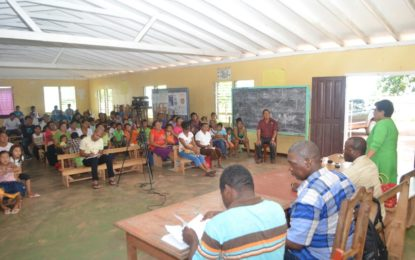 Social Cohesion Minister engages Hiawa residents on gov't plans, listens to their concerns
