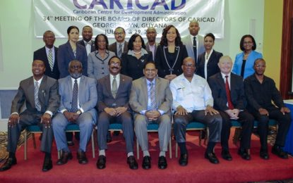 CARICAD's 34th meeting opens – PM pledges government's support to advance local public service's development