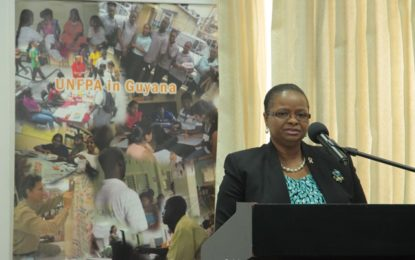 Remarks by Minister of Social Protection Volda Lawrence, M.P.,  – For World Population Day, 2016