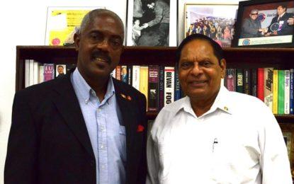 Prime Minister receives visit from President of the Senate of Grenada