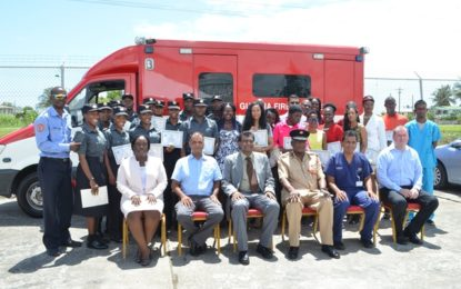 Command centre for emergency calls to be set up – 29 Emergency Medical Technicians graduate