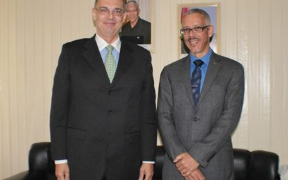 Danish Ambassador pays courtesy call on the Minister of Business