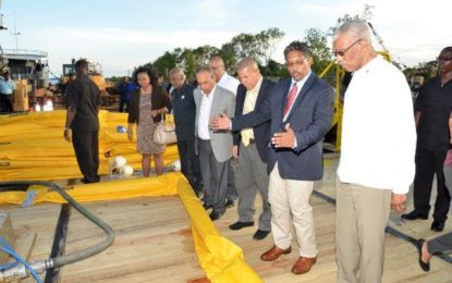 Guyana must prepare to exploit prospects as new economic sectors emerge -President Granger at launch of GAICO Construction's Oil Spill Response Services