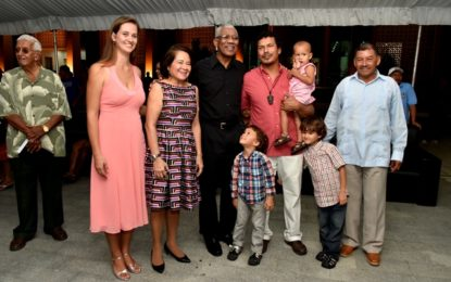 President, First Lady attends reception for Indigenous leaders