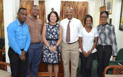 First Lady makes financial donation to Rotaract Club's Operation BOOST