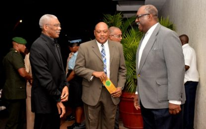 President attends Mining Week opening and awards ceremony