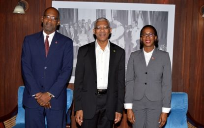 Trinidad and Tobago Energy Minister calls in President Granger